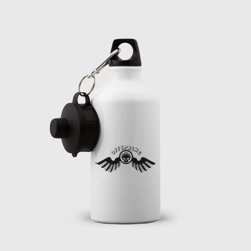 Бутылка спортивная  Фото 03, Offspring логотип с крыльями