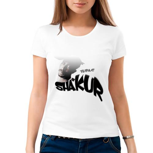 "Женская футболка ""Tupac Amaru Shakur"" - 1"