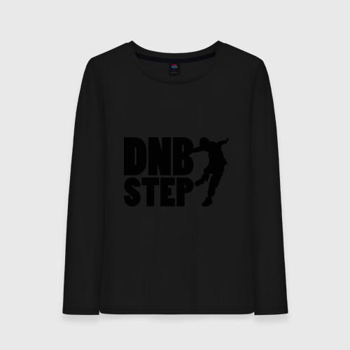 Женский лонгслив хлопок DNB Step танцор