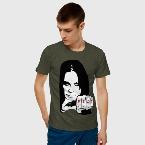 Мужская футболка хлопок Ozzy Ozborn Фото 01