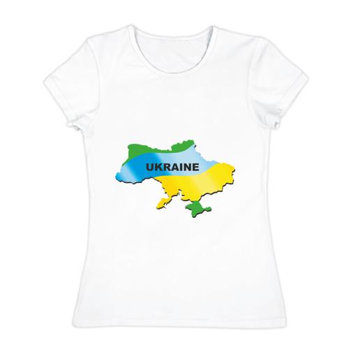 Женская футболка хлопок Украина (3)