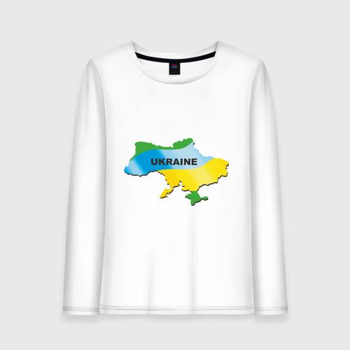 Женский лонгслив хлопок Украина (3)