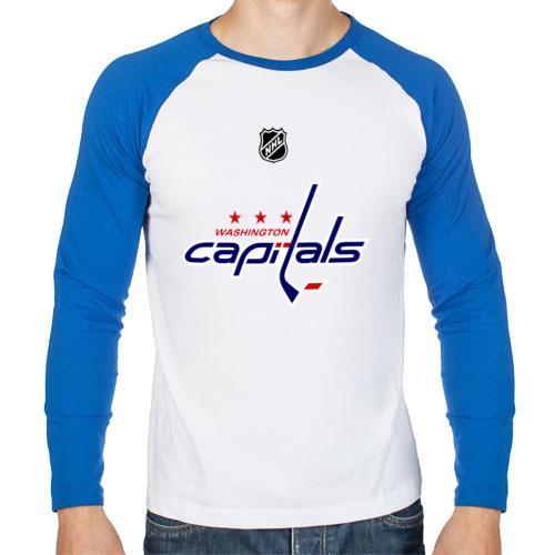 """Мужская футболка-реглан с длинным рукавом """"Washington Capitals Ovechkin"""" - 1"""