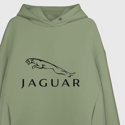 Женское худи Oversize хлопок Jaguar Фото 01