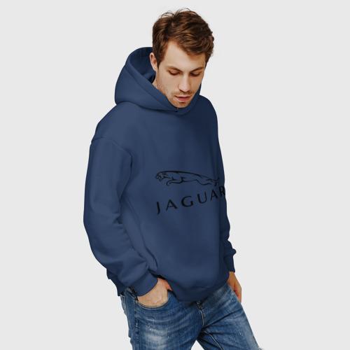 Мужское худи Oversize хлопок Jaguar Фото 01