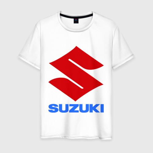 Мужская футболка хлопок Suzuki