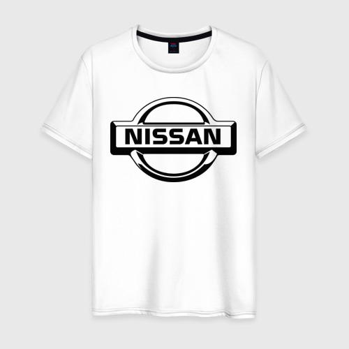Мужская футболка хлопок Nissan club