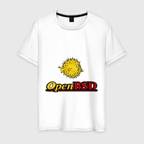 Футболка Open BSD