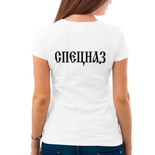 Женская футболка хлопок  Фото 04, Спецназ (2)