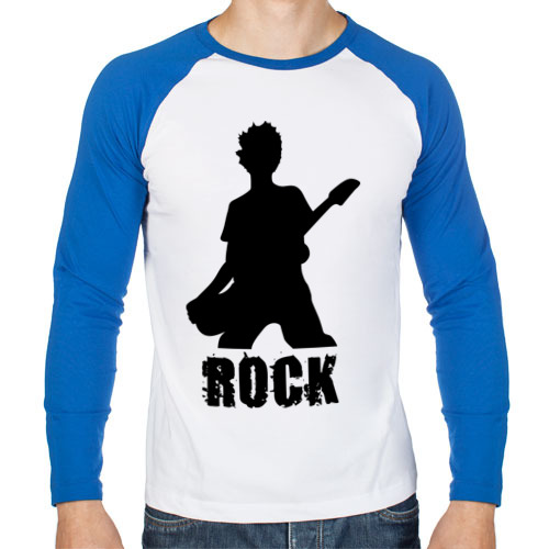 Мужской лонгслив реглан Rock (5)