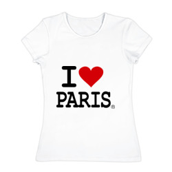 I love Paris - интернет магазин Futbolkaa.ru
