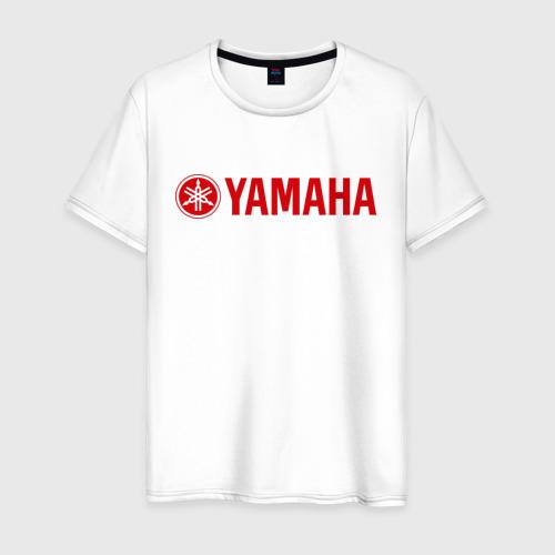 Мужская футболка хлопок Yamaha