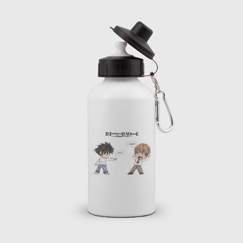 Бутылка спортивная Death Note.Kira VS L