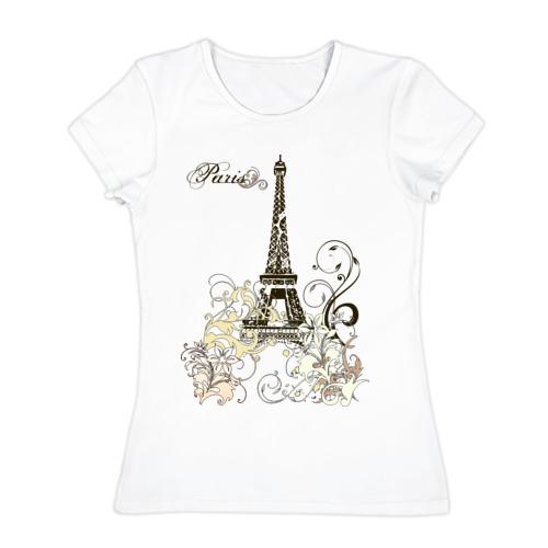 Женская футболка хлопок Paris (2)