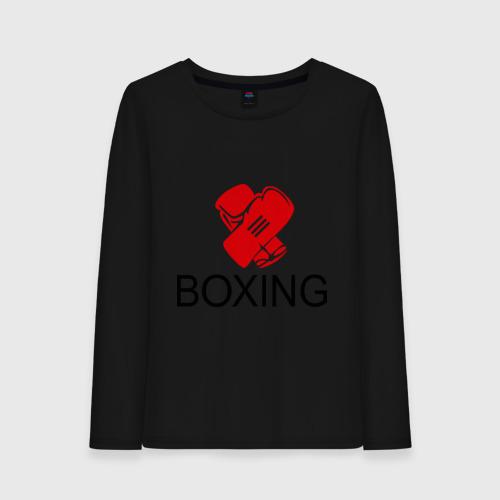 Женский лонгслив хлопок Boxing (2)