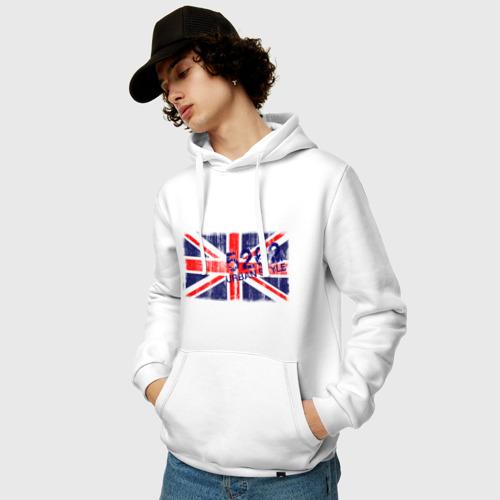 Мужская толстовка хлопок  Фото 03, England Urban flag