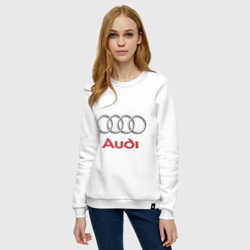 Женский свитшот хлопок Audi (2) Фото 01