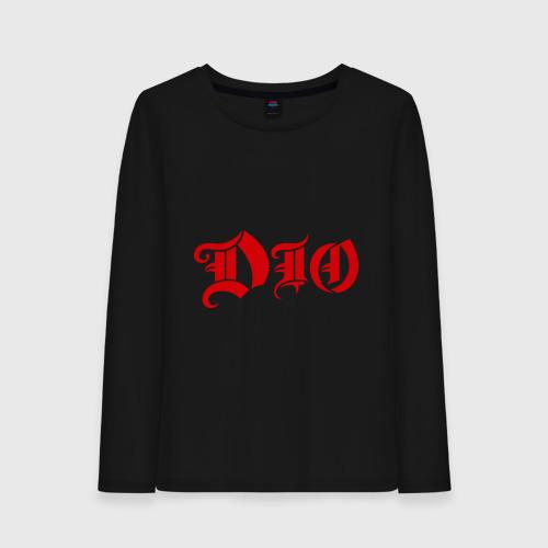 Женский лонгслив хлопок Dio