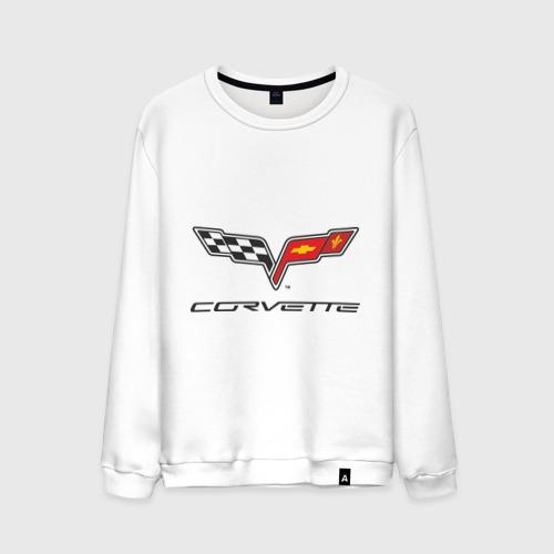 Мужской свитшот хлопок  Фото 01, Corvette