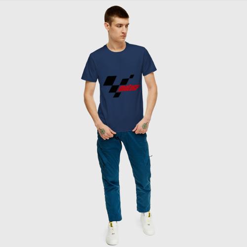 Мужская футболка хлопок Motogp Фото 01