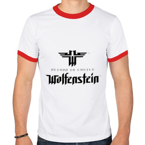 Мужская футболка рингер  Фото 01, Return to Castle Wolfenstein