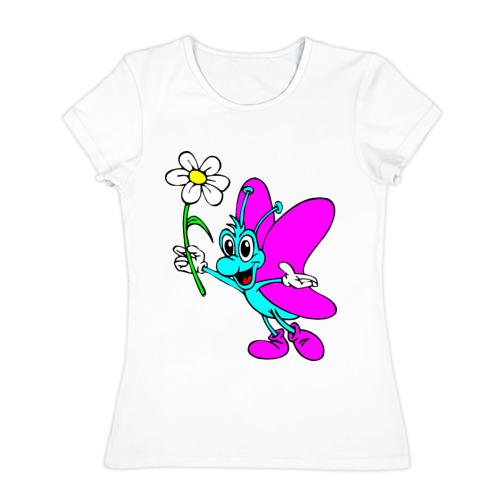 Женская футболка хлопок Зверёк