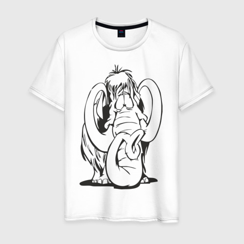 Мужская футболка хлопок Мамонтенок