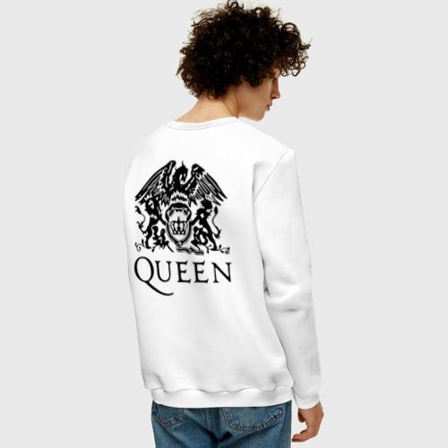 Мужской свитшот хлопок Queen. We will rock you! Фото 01