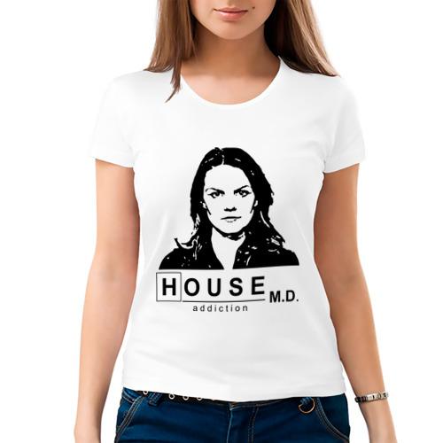 Женская футболка хлопок  Фото 03, House m.d.  Kameron