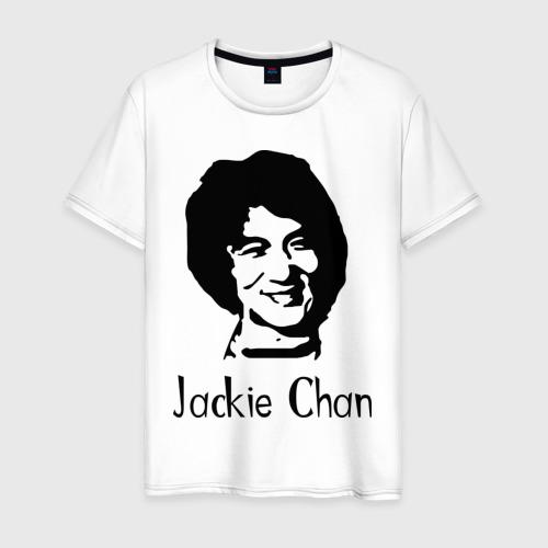 Мужская футболка хлопок Jackie Chan