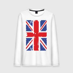 Мужской лонгслив хлопокБританский флаг