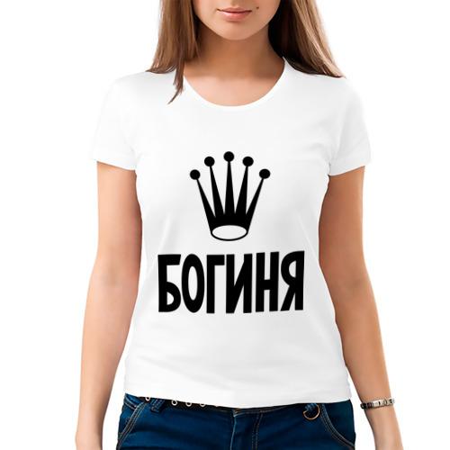 Картинка футболки с надписью богиня