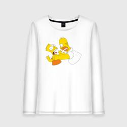 Гомер душит Барта