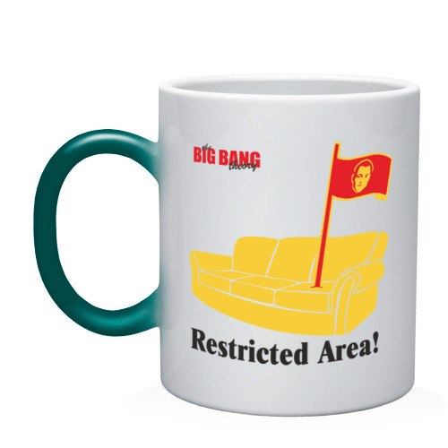 Restricted Area! BigBangTheory