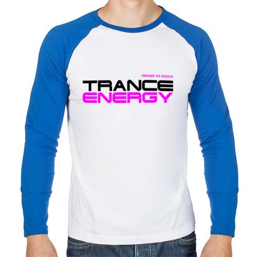 Мужской лонгслив реглан Trance Energy (2)