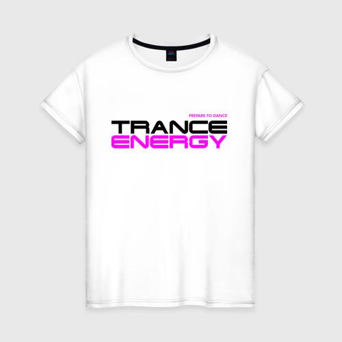 Женская футболка хлопок Trance Energy (2)