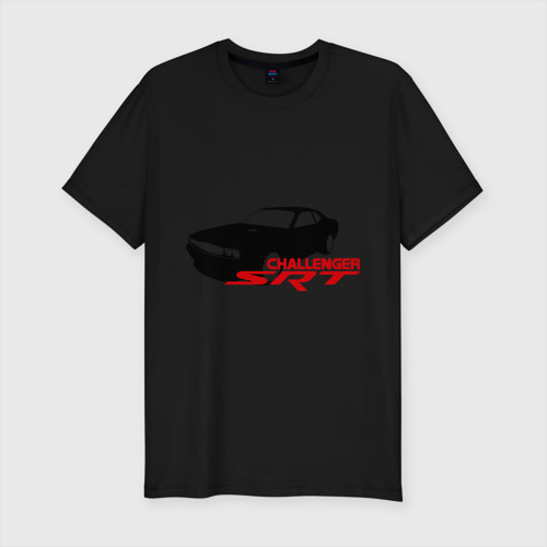 Мужская футболка премиум Dodge challenger srt Фото 01