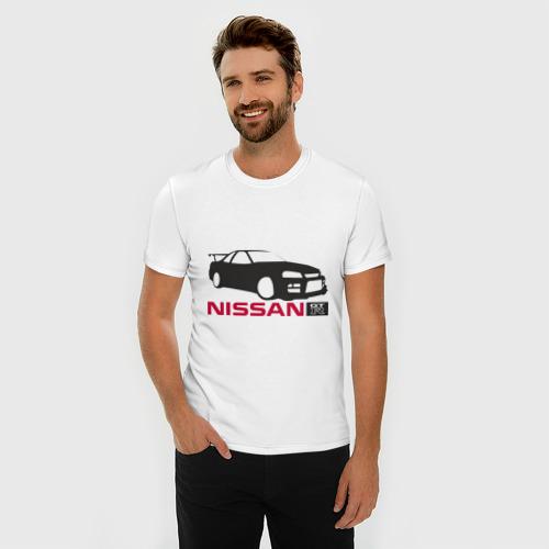 Мужская футболка премиум  Фото 03, Nissan GTR