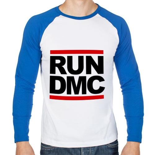 Мужской лонгслив реглан Run DMC