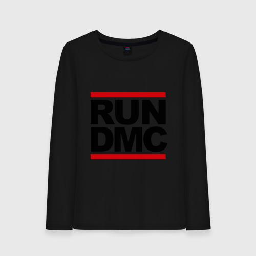 Женский лонгслив хлопок Run DMC