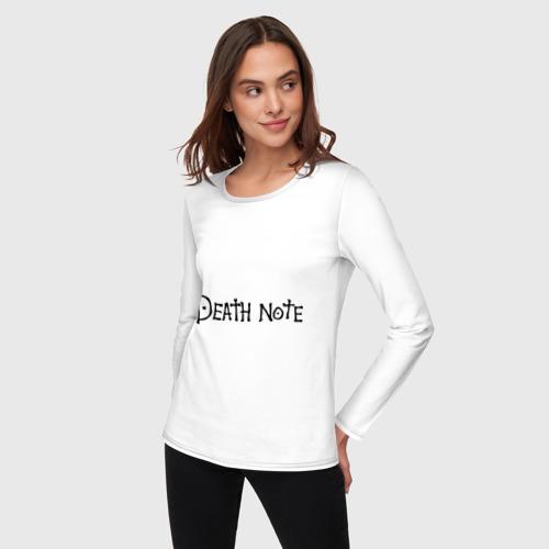 Женский лонгслив хлопок  Фото 03, Death Note (2)