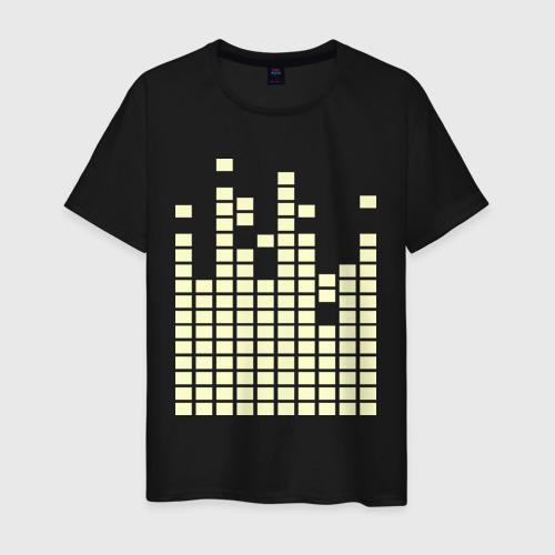 Мужская футболка хлопок Eqalizer glow