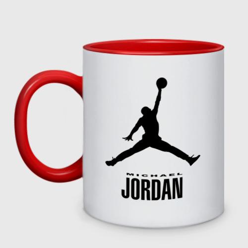 Кружка двухцветная  Фото 01, Michael Jordan