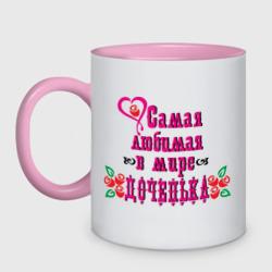 Самая любимая доченька - интернет магазин Futbolkaa.ru