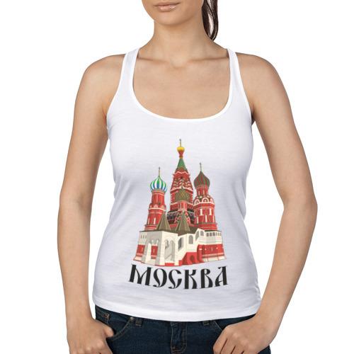 """Женская майка-борцовка """"Москва"""" (3) - 1"""