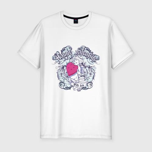 Мужская футболка премиум  Фото 01, День Святого Валентина
