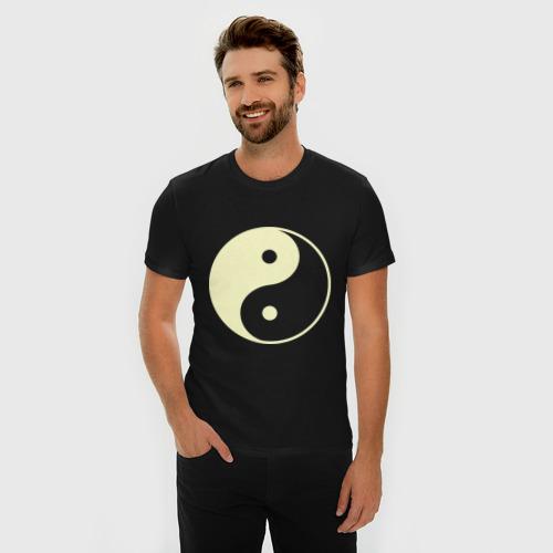 Мужская футболка премиум  Фото 03, Инь-Янь (2)