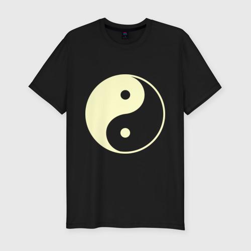 Мужская футболка премиум  Фото 01, Инь-Янь (2)