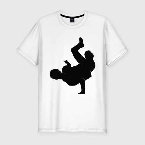 Мужская футболка премиум  Фото 01, Брэйк дансер (2)