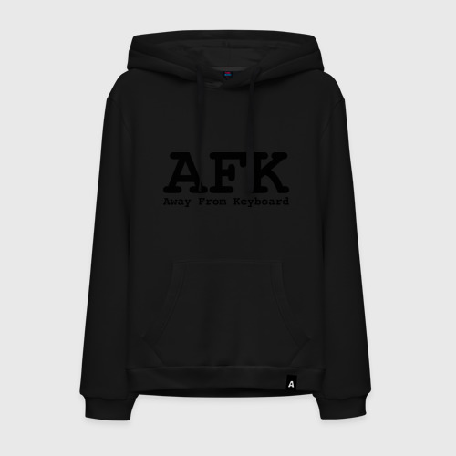 Мужская толстовка хлопок AFK: Away From Keyboard. Фото 01